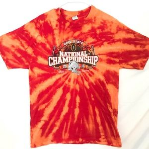 Ohio State Buckeyes tiedye T-shirt